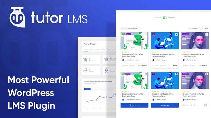 TutorLMS – Turn Your WordPress Site Into A Full Fledge Elearning System