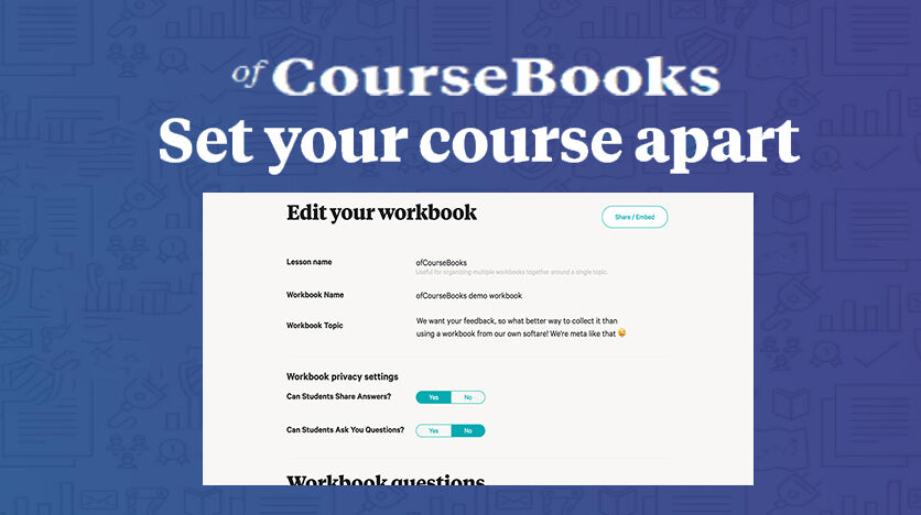 OfCourseBooks – Create Online Course