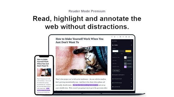 Reader Mode Premium