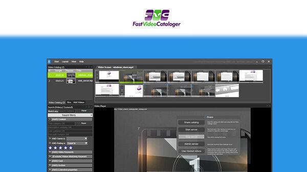 Fast Video Cataloger lifetime deal