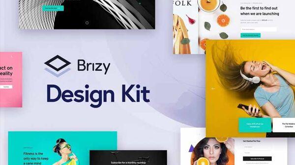 Brizy Design Kit 836×468