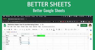 Better Sheets